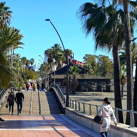 Paseo seafront promenade