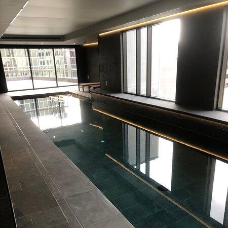 Stunning indoor pool