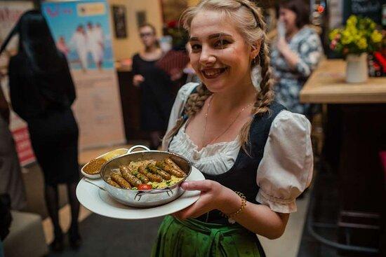 Restaurant Oktober Fest Themed Waitress
