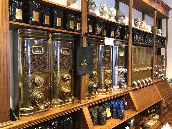 Kaffeschütten