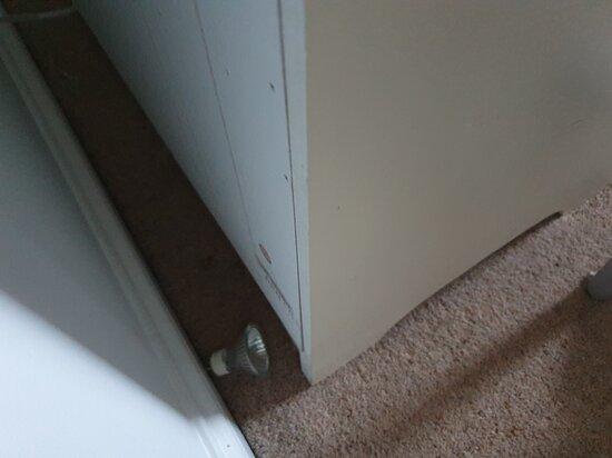 More litter in bedroom