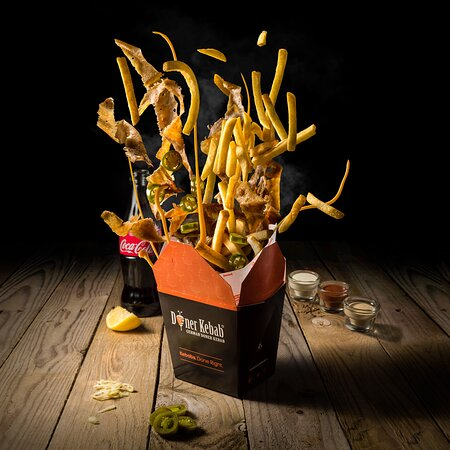 GDK Doner Box with Fries