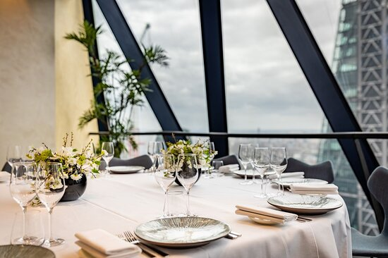 Searcys at the Gherkin private dining rooms on Level 38
