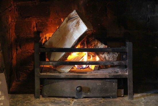 Pub Interior - open fire