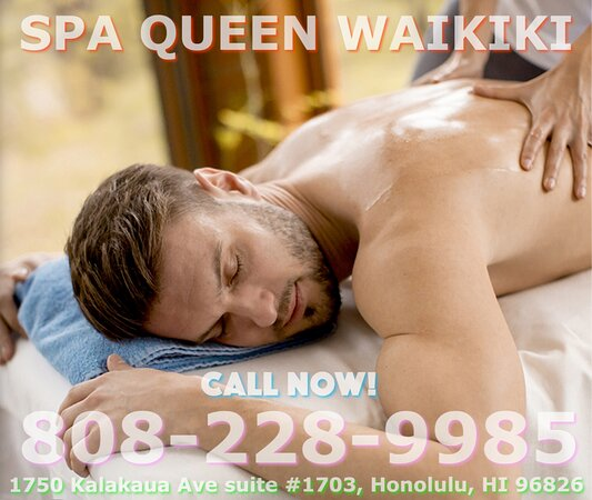 Here at Spa Queen Waikiki We are  professional massage therapists trained to provide all kinds of massage therapy in one place! Ensuring that whether you're looking for relaxation, rejuvenation, or even advanced pain management and flexibility, we have exactly the services you need! We offer Asian massages, full body massages, deep tissue massages, Foot massages, relaxation massages, Reflexology, Swedish massages, Lomi Lomi Massage, Coconut oil+Hot Stone and therapeutic massages! Free parking!