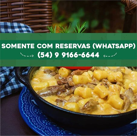 Somente reservas via Whatsapp!