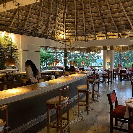 Las Terrenas, Dominican Republic: Buffet Polynésie.