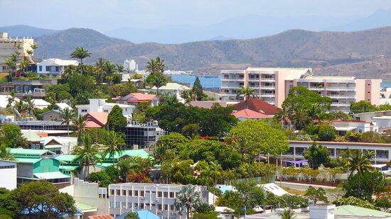 Noumea, New Caledonia: 𝕄𝕠𝕦𝕟𝕥 𝕍𝕖𝕟𝕦𝕤 ℍ𝕚𝕝𝕝 𝕍𝕚𝕖𝕨𝕡𝕠𝕚𝕟𝕥 - 𝕆𝕣𝕡𝕙𝕒𝕟𝕘𝕖 𝔹𝕒𝕪 - ℕ𝕠𝕦𝕞é𝕒 ℂ𝕚𝕥𝕪.