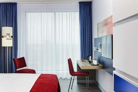 IntercityHotel Enschede, Netherlands, handicapped accessible room