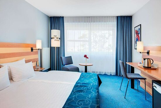 IntercityHotel Frankfurt Airport, Germany - Standard twin room