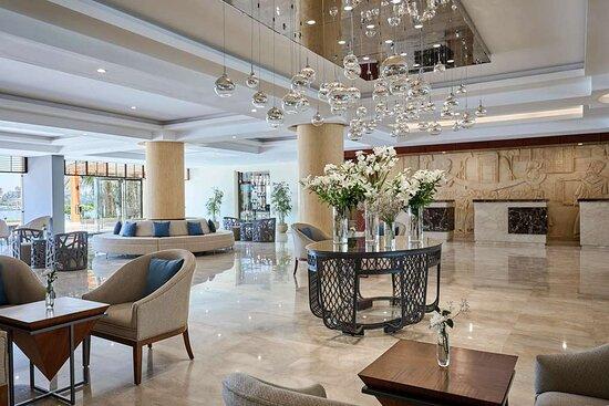 Steigenberger Achti Resort, Luxor, Egypt - Lobby  Reception