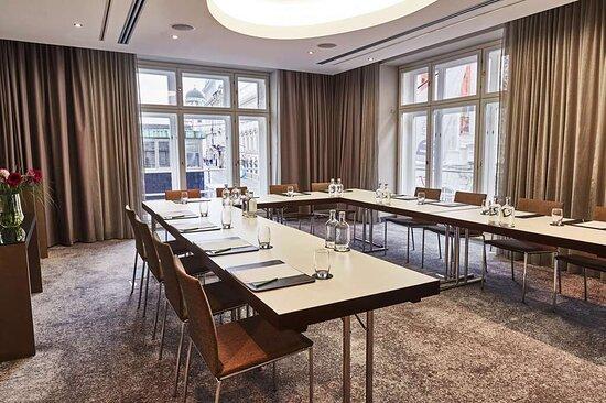 Steigenberger Hotel Herrenhof, Vienna, Austria - Meeting Room Musil