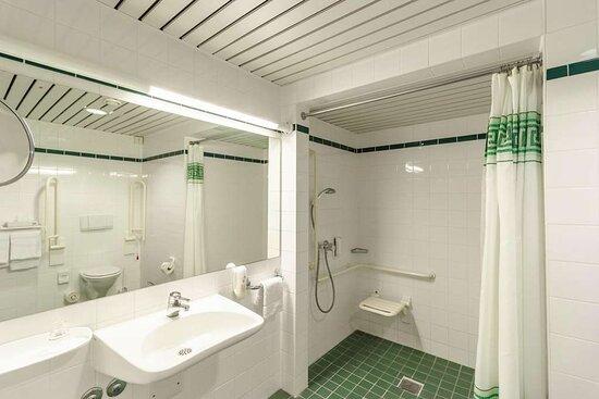 IntercityHotel Schwerin, Germany - Handicapped Accessible Room, Bathroom
