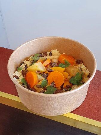 le bol de la semaine, un couscous végétarien