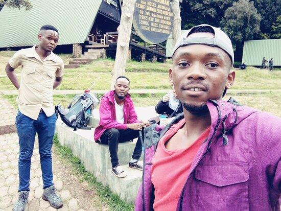 Mountain Kilimanjaro Day Hike: three musketeers
