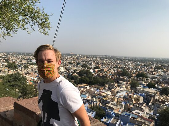 Jodhpur Blue City By Foot: View over the city.