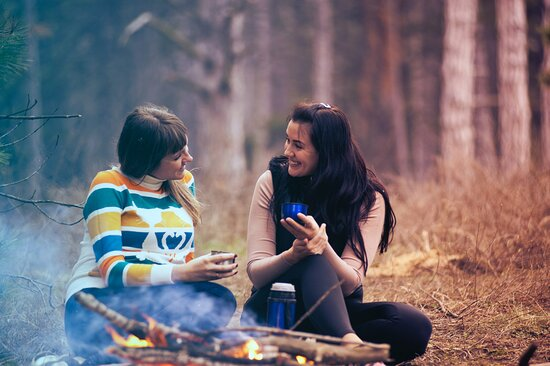 Camping skill courses and tours