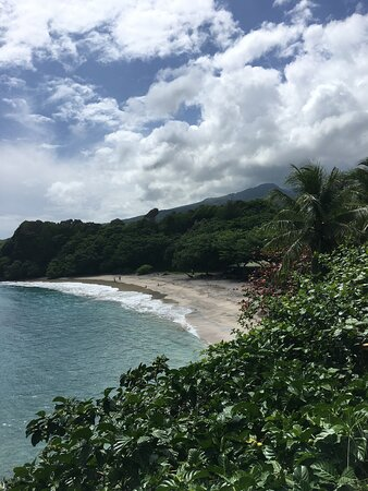 A secluded beach along the road to Hana.