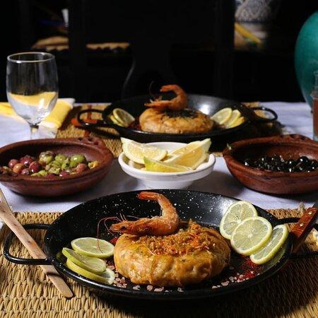 Restaurant poisson et herbes