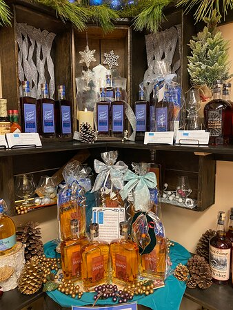 We're all decked out for the holidays and everyone's loving our new releases, Bernie's Brandy and Visions of Sugar Plums Plum Liqueur!