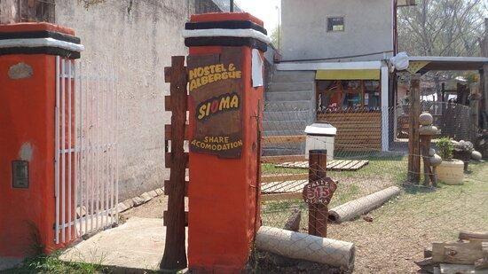 Portal de acceso al Hostel