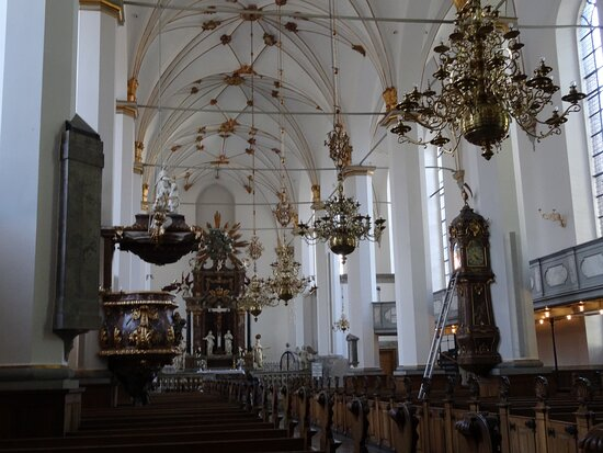 Copenhagen, Nave of Trinitatis Kirke