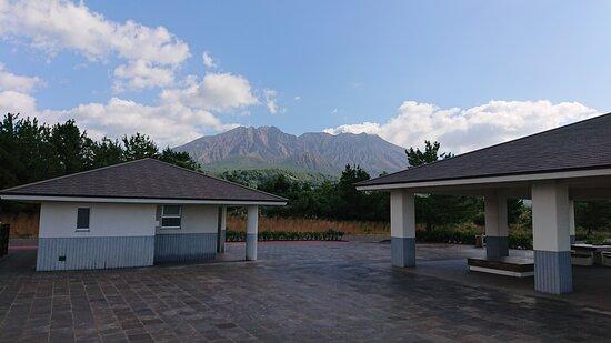 山もきれいに見えます