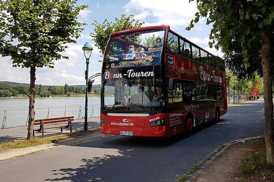 Visite de la ville de Bonn et de Bad Godesberg en bus à impériale
