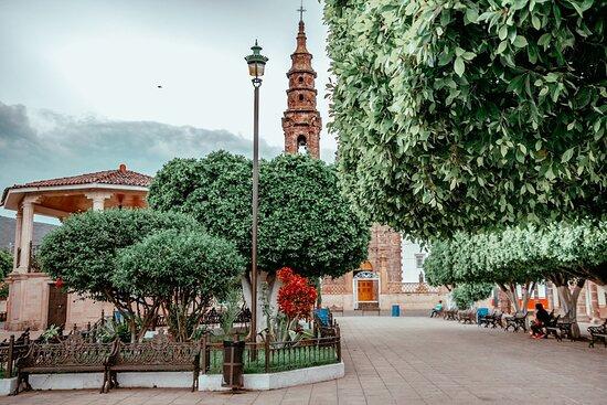 Plaza Municipal Ecuandureo