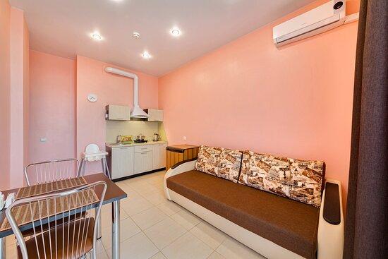 Апартаменты с 1 спальней Гостиная