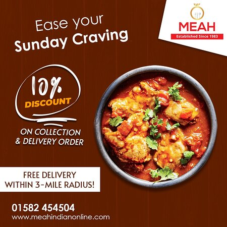 Ease your Sunday Craving with Meah's Specialities!😉✌️