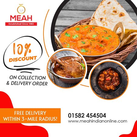 We don't just cook to please the eye, the magic is in the taste! 😋  Order now📲 and enjoy them with a huge discount.  ⭕ 10% off on collection & delivery order ⭕ Free delivery within 3-mile radius!
