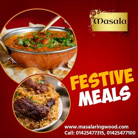 Festive meals cooked with a festive spirit.  Order now! 📲