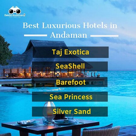 Đảo Havelock, Ấn Độ: Here are  the top, outclass resorts of Andaman n Nicobar Is.