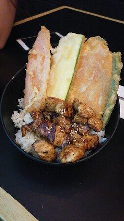 El mejor sushi se la zona!