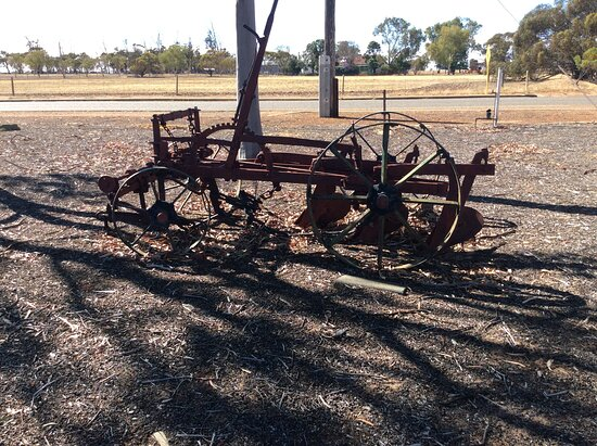Dowerin, Australia: Old plough