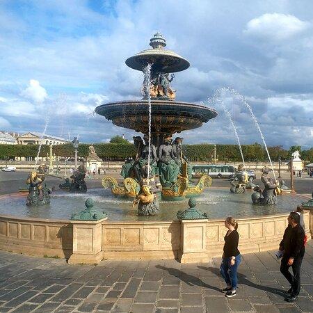 Fontaine des Fleuves