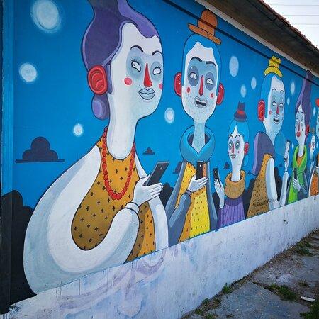Il tour dei murales - girando per Montesilvano ci sono dei bei murales di vario genere. È stato divertente fare un giro nei vari quartieri alla ricerca del murales più bello 😀