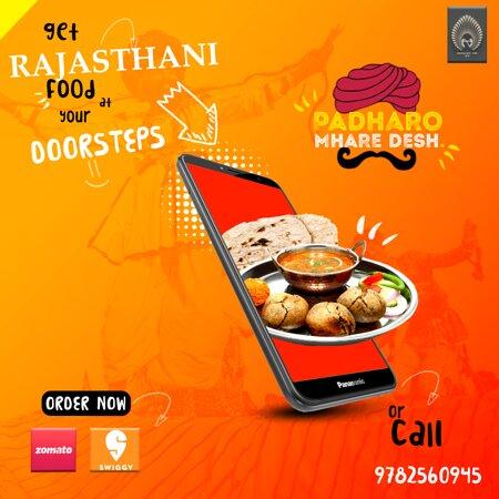 Get Rajasthani Food At Your Door Steps