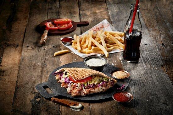 Doner Kebab Chicken Main Meal
