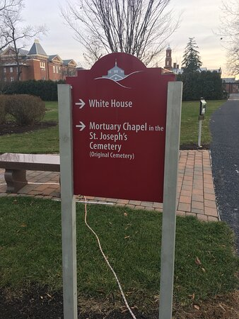 St Elizabeth Ann Seton National Shrine Signage