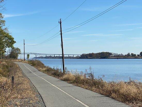 The trail near Delaware City