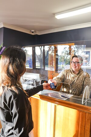 Experience a Covid-Safe check in when you stay at the Julie-Anna.