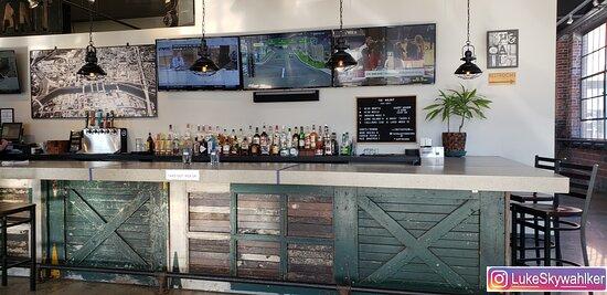 Fun bar area