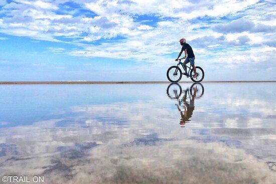 Extraordinary Experience Bike Rental on sand in Tottori