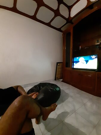 Lobby after reception with Xbox, Televison, Carrom, Cards, Board Games.
