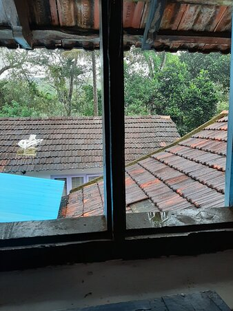 View from a small windowm in the attic