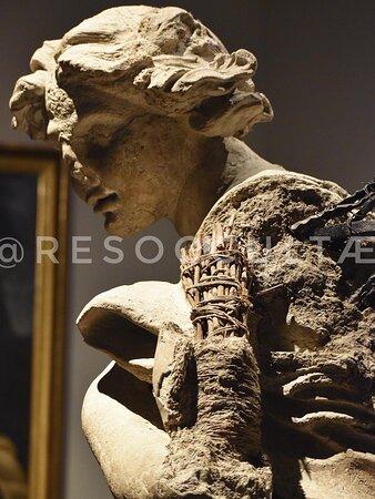 • Gian Lorenzo Bernini 1673 ~ Modello Angelo Inginocchiato per il Tabernacolo della Basilica Vaticana, Collezione Chigi