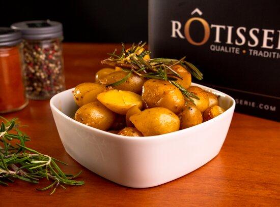 Nos pommes de terre rôties : l'incontournable de Rôtisserie !