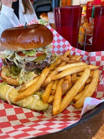 Whoop-Ass Burger